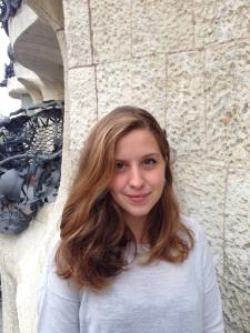 Carla Conejo-González estudiant en pràctiques Fundació Catalunya La Pedrera