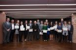 Acte de lliurament de diplomes Ajuts Germasn Trias Talents -programa Talents Fundació Catalunya-La Pedera 2015