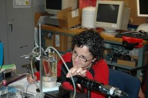 Al 2009, dins la 2a etapa del Joves i ciència, la Montserrat va participar al programa RSI, al laboratori d'acústica de la Boston University.