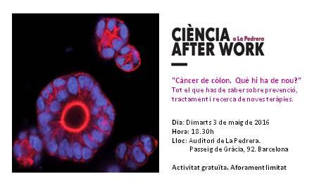 Ciència after work a la Pedrera_maig16