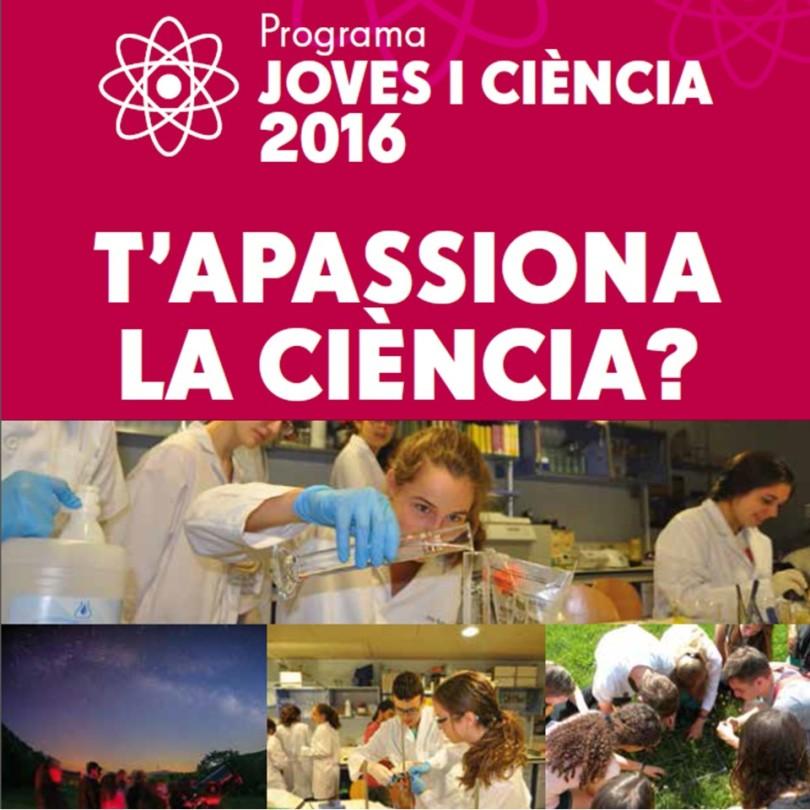 Joves i ciència T'apassiona la ciència?