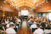 Acte de benvinguda dels Joves i Ciència 2016 i de comiat de la promoció 2014, al Món Sant Benet