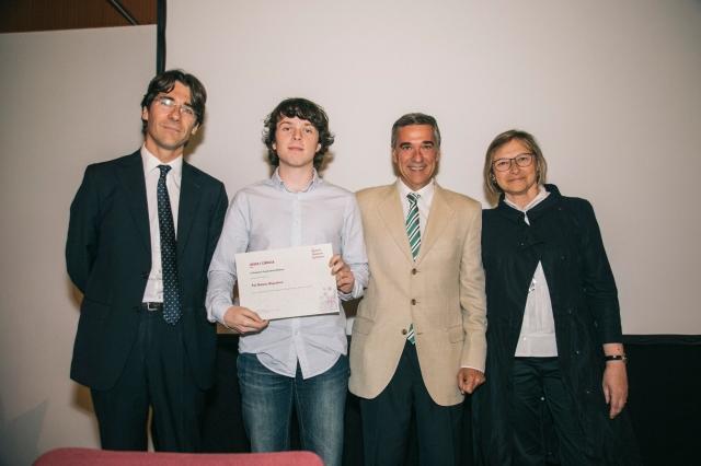 Pol Gomez, Joves i Ciència promoció 2014